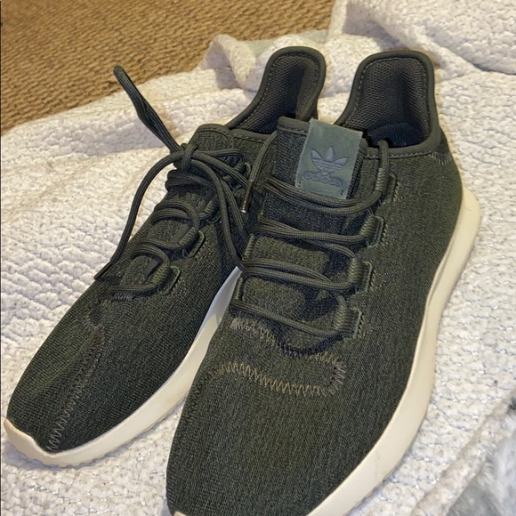 Adidas army green women's shoes